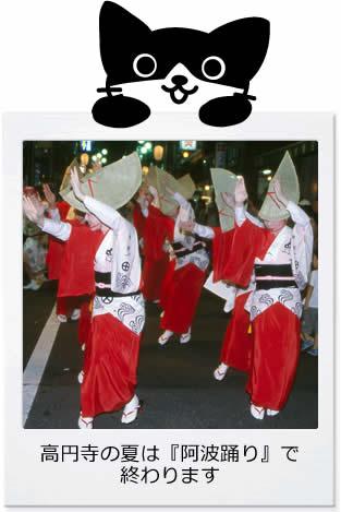 高円寺の阿波踊り